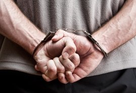 Handcuffs - Forsyth County Domestic Violence Attorney